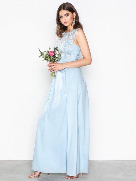 Billede af Chi Chi London Bryne Maxi Dress Maxikjole Blue
