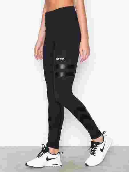 Tribe High Waist Tights - Aim n - Black - Tights   Pants (Sports ... edf937ed1