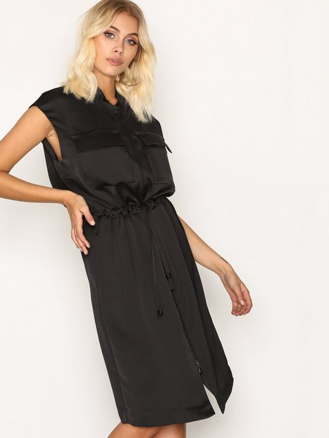 Billede af By Malene Birger Aiyana Dress Loose fit dresses Black