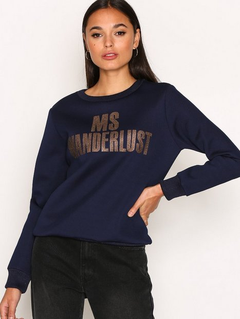 By Malene Birger Sabrilla Sweatshirt Sweatshirts Midnight thumbnail