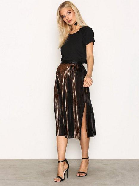 Billede af By Malene Birger Iauno Skirt Midi Nederdel Copper
