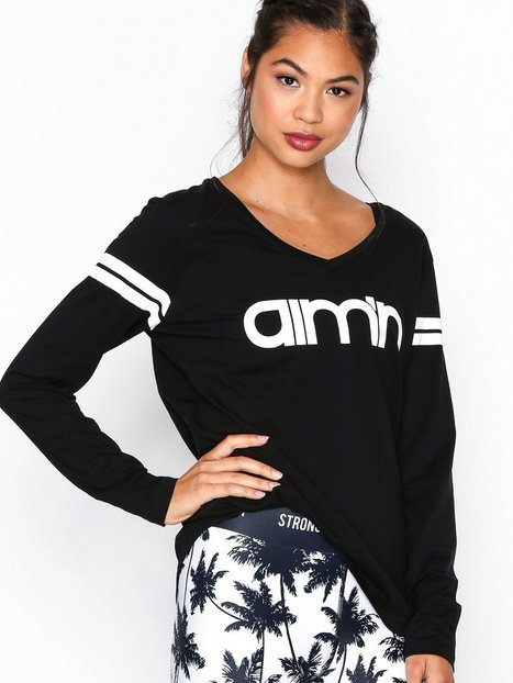 Black Logo Long Sleeve