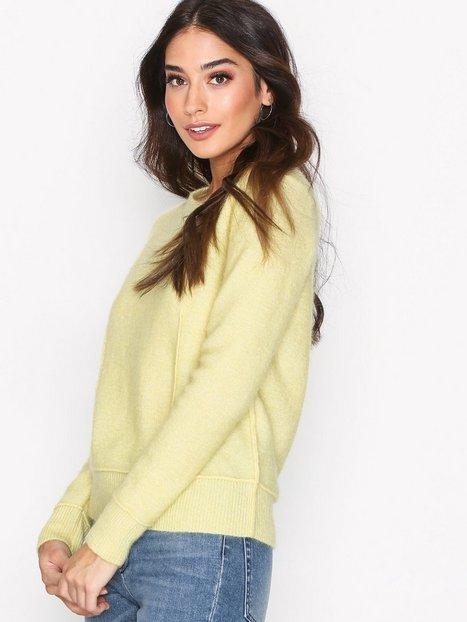 Billede af By Malene Birger Balancia Knitwear Strikket trøje Yellow