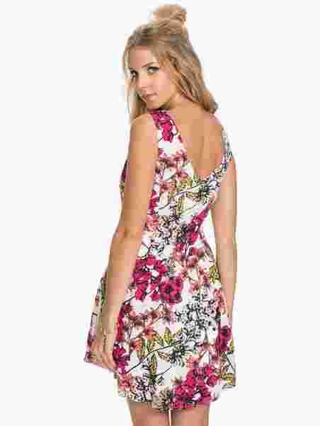 dd09df05 Vmlily Short Dress - Vero Moda - Snow White - Party Dresses ...