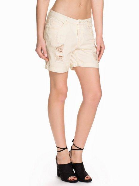 Billede af Vero Moda Vmadele Color Destroy Shorts Shorts Snow White