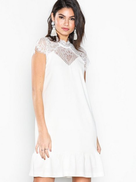Billede af Neo Noir Foxy White Dress Loose fit White
