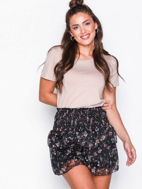 Billede af Neo Noir Carin Floral Skirt Mini nederdele Black