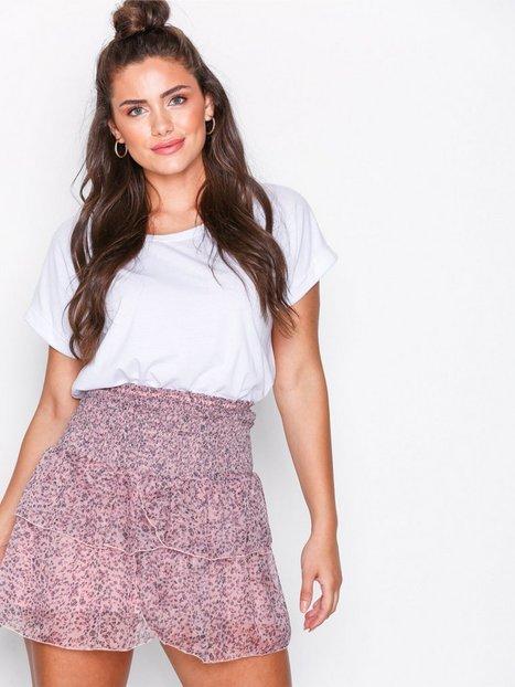 Billede af Neo Noir Carin Floral Skirt Mini nederdele Lavender