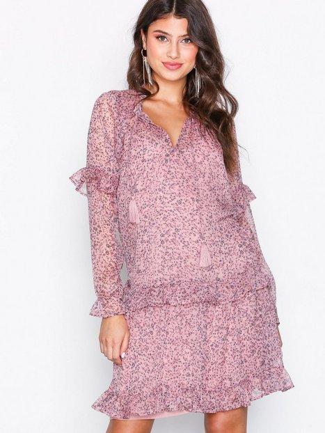 Billede af Neo Noir Abela Printed Dress Loose fit Lavender