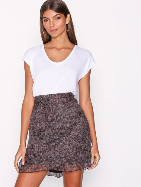 Billede af Neo Noir Bella Printed Skirt Mini nederdele City Night