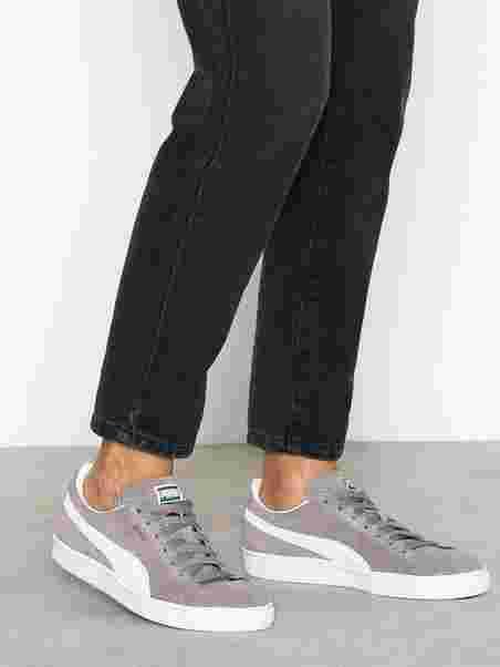 Suede Classic Eco - Puma - Gray White - Sneakers - Shoes - Women ... 7f64cca05e71