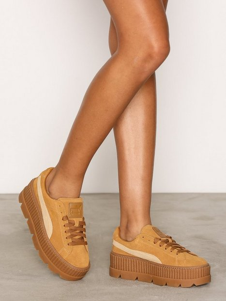 Billede af Fenty Puma By Rihanna Cleated Creepersuede WNS Low Top Brun