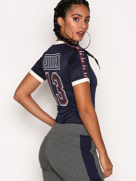 Billede af Fenty Puma By Rihanna V-Neck Jersey Bodysuit Bukser & Shorts Blå