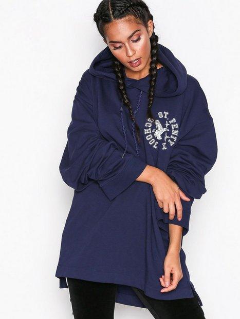 Billede af Fenty Puma By Rihanna LS Back Lacing Hoodie Hoods Blå