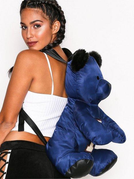 Billede af Fenty Puma By Rihanna Mascot Bear Backpack Nylon Rygsæk Blå