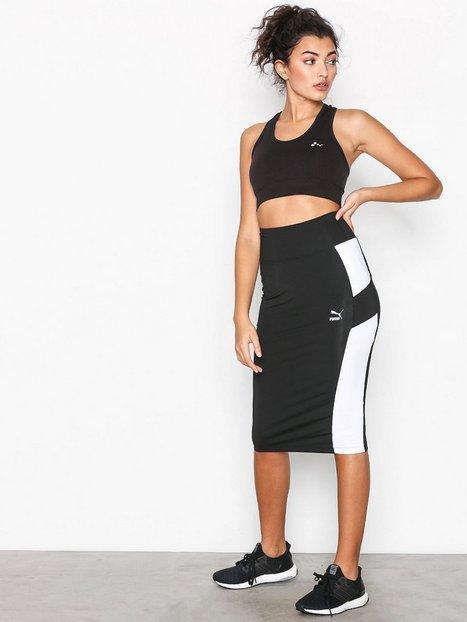 Billede af Puma Pencil Skirt Midi nederdele Sort