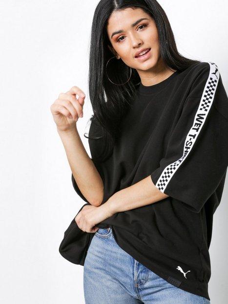 Billede af Fenty Puma By Rihanna SS Crew Neck T-Shirt Oversized Sort