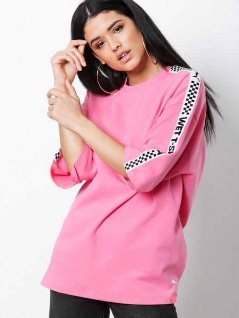 Billede af Fenty Puma By Rihanna SS Crew Neck T-Shirt T-shirt Rosa/Lyserød