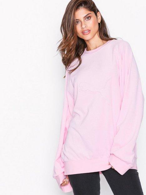 Billede af Fenty Puma By Rihanna Crew Neck Pullover Sweatshirts Rosa/Lyserød