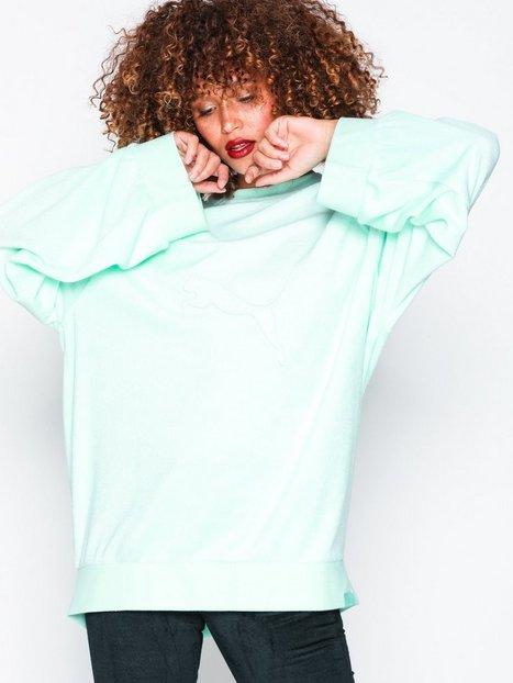 Billede af Fenty Puma By Rihanna Crew Neck Pullover Sweatshirts Turkis