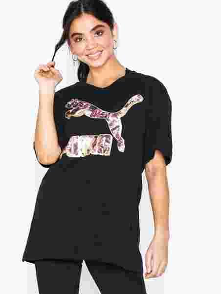 687552331bb Puma X Kenza Tee - Puma - Black - Training T - Shirts - Sports ...