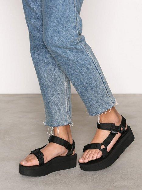 Billede af Teva Flatform Universal Sandaler Sort