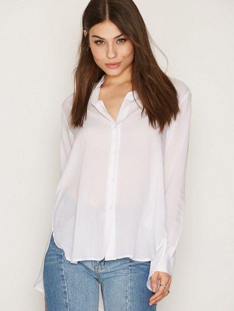 Billede af Filippa K High-low Tencel Shirt Skjorte White