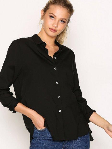 Billede af Filippa K High-low Tencel Shirt Skjorte Black