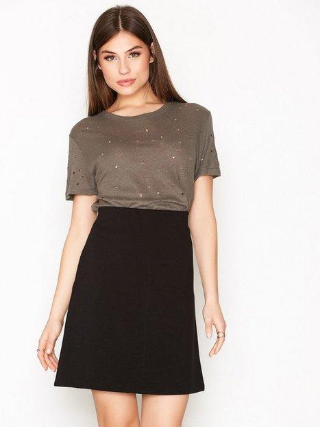 Billede af Filippa K Clean Jersey Skirt Mini Nederdel Black