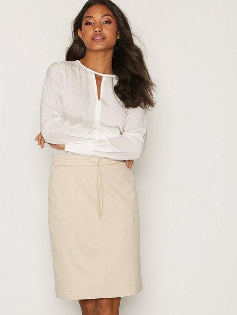 Billede af Filippa K Ria Drawstring Skirt Mini Nederdel Sand