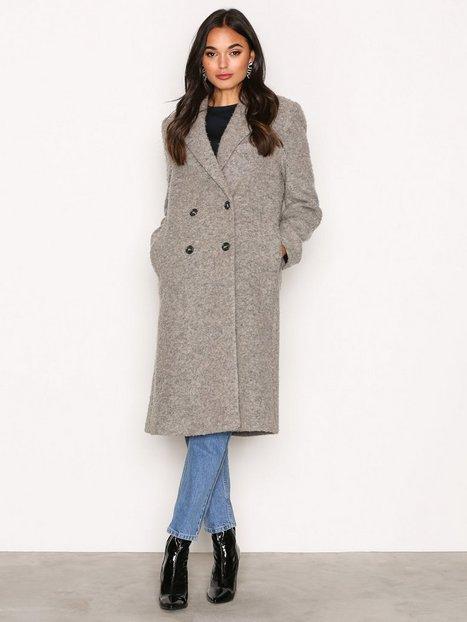 Billede af Filippa K Edine Shaggy Tailored Coat Frakke Grey