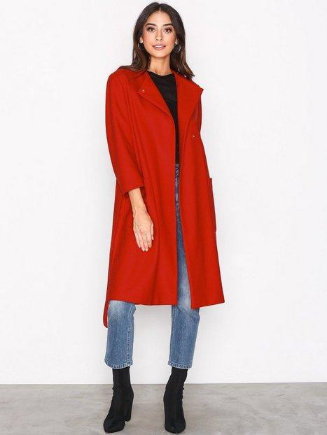 Billede af Filippa K Blair Belt Coat Frakke Rouge