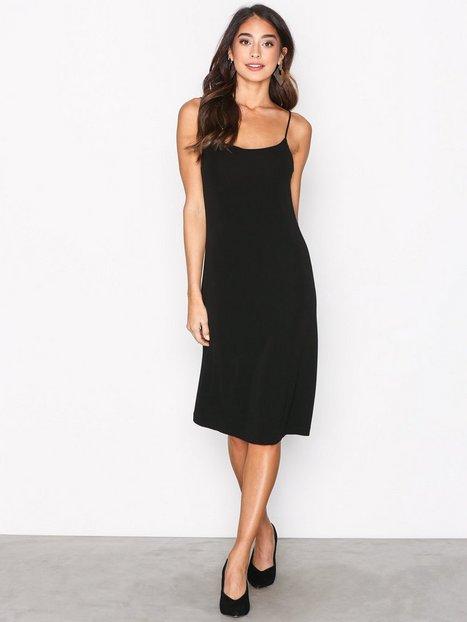 Billede af Filippa K Jersey Crepe Strap Dress Kropsnære kjoler Black
