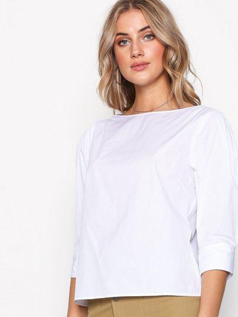 Billede af Filippa K Cotton Poplin Top Skjorter White