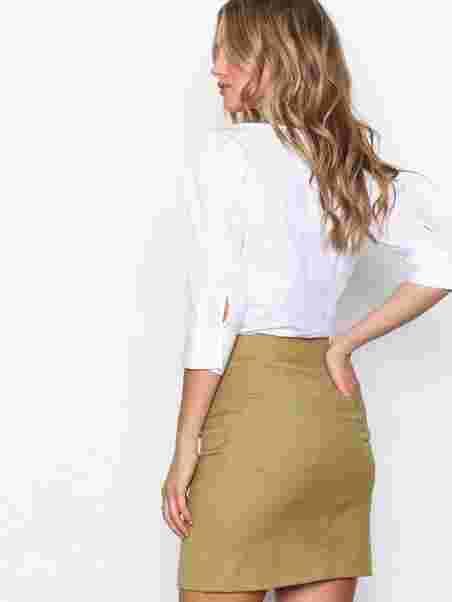 94f21f0e558 Shoppa Twill Skirt - Online Hos Nelly.com