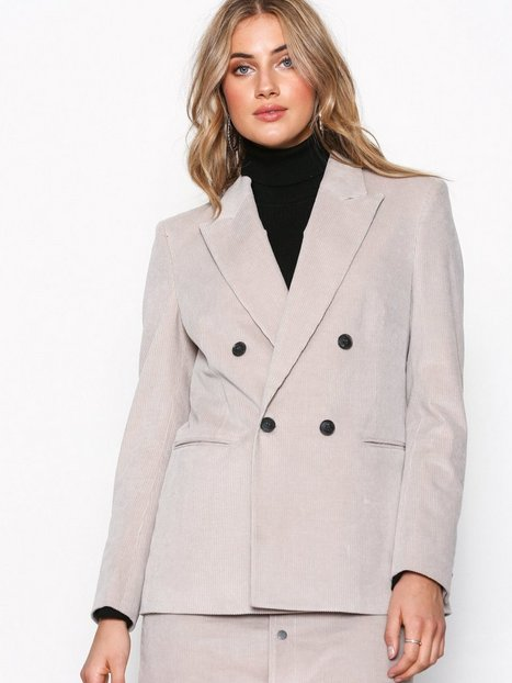 Filippa K Katie Cord Jacket Blazere Stone
