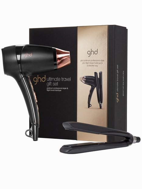 Billede af ghd ghd Ultimate Travel Set Glattejern Sort
