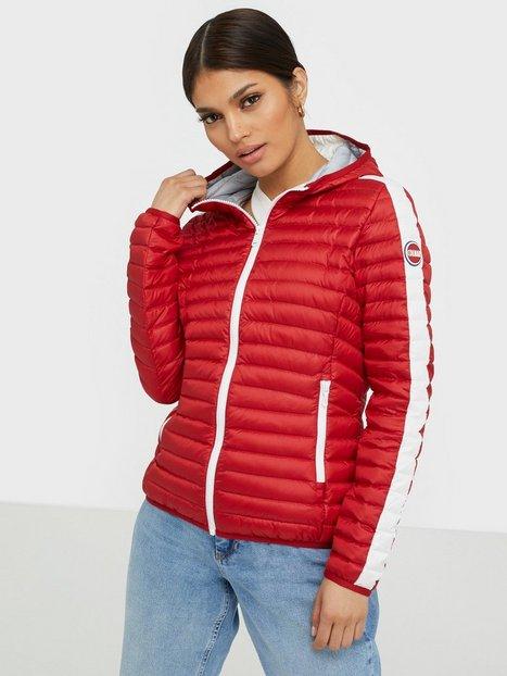 Colmar 2195 Ladies Down Jacket Red
