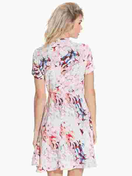 f0cbc4150351 Addy Adamira Print Dress - Mbym - Print - Festkjoler - Tøj - Kvinde ...