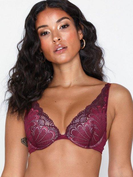 Billede af Wonderbra Glamour Triangle Bra Push-ups & balconette-BH'er Cranberry