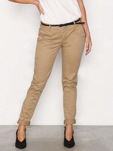 Billede af Maison Scotch Pima Cotton Stretch Chino Chinos Beige