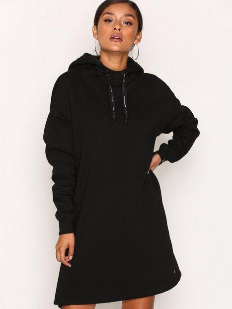 Billede af Scotch & Soda Hooded Oversized Sweat Dress Kjoler Black