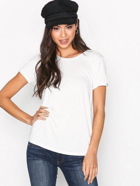 Billede af Maison Scotch Cold Dye Artwork T-Shirt T-shirt Denim White