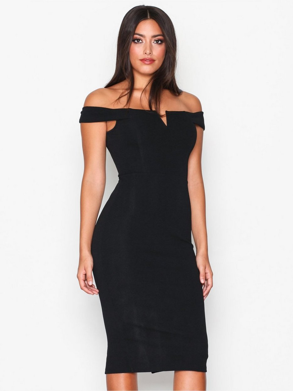 Ax Paris  Bardot Midi Dress