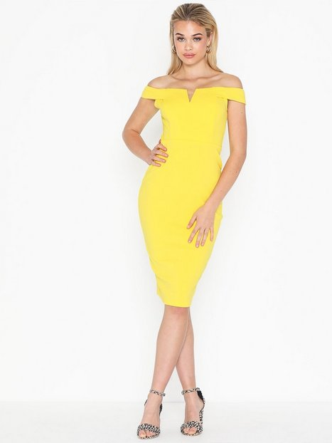 Billede af Ax Paris Bardot Midi Dress Tætsiddende kjoler