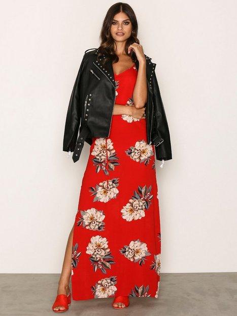 Billede af Ax Paris Flower Maxi Dress Maxikjole Red