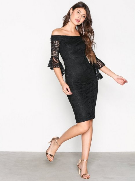 Billede af Ax Paris All About the Sleeve Dress Kropsnære kjoler Black