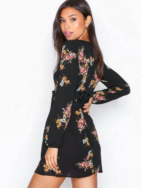 Long Sleeve Print Dress