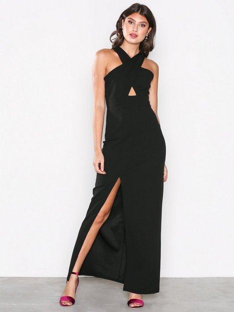 Ax Paris Perfect Maxi Dress Maksimekot Black thumbnail