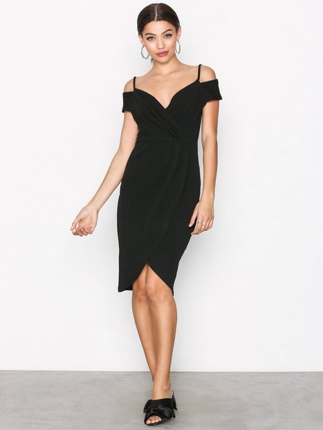 Billede af Ax Paris Cold Shoulder Dress Kropsnære kjoler Black
